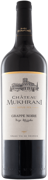 Saperavi Cabernet Grappe Noire 2017 - Château Mukhrani