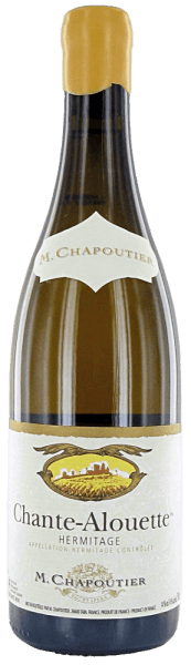 The Chante Alouette Hermitage AOC blanc by M.Chapoutier shines golden yellow with greenish reflections in the glass. The nose reveals a complex bouquet with aromas of quince, honey, acacia blossom and delicate spicy notes, which continues on the palate impressively soft and powerful. In the final, this elegant white wine from the northern Rhone is long, soft and expressive. Vinification of Chante Alouette Hermitage AOC blanc by M.Chapoutier The wine-growing region Hermitage is located on the northern Rhone. The Chante Alouette from M.Chapoutier is produced biodynamically from 100% Marsanne grapes, a local grape variety in the Rhone valley. After the selective harvest, the Marsanne grapes are gently pressed, one quarter of the must is fermented in new wooden barrels, three-quarters in stainless steel tanks. Food pairing for the Chante Alouette Hermitage by M.Chapoutier This soft and powerful French white wine goes well with fried and grilled meats and fish, pasta with tasty sauces, curry dishes and mature French cheese. Awards The Wine Advocate Robert M. Parker 93 points for 2013Wine Spectator 95 points for 2010