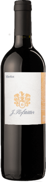 The Merlot South Tyrol DOC by Tenuta J.Hofstätter presents itself intensely ruby red in the glass, the bouquet is warm, concentrated and dense, with aromatic varietal notes of blackberry jelly and hints of undergrowth and humus.On the palate powerfully imd complex, this South Tyrolean Merlot unfolds its emphatically winy aroma, with well-integrated, firm tannins and soft fruit. The finish is long and sustainable. Vinification of the Merlot South Tyrol DOC by J.Hofstätter The vineyards on which the vines stand for this Merlot have marl and clay soils. After manual harvesting, the grapes are lightly crushed and destemmed, the mash is fermented after a short maceration for about 10 days. The must is kept in contact with the skins by pumping and gentle tamping, and at the end of fermentation the temperature is slightly increased in order to achieve better colour and taste extraction from the grape skins. Food recommendation for Merlot South Tyrol by Tenuta J.Hofstätter This fine South Tyrolean Merlot is an excellent accompaniment to dark and red grilled meat, hearty, tasty dishes and spicy medium-ripe and ripe cheeses.