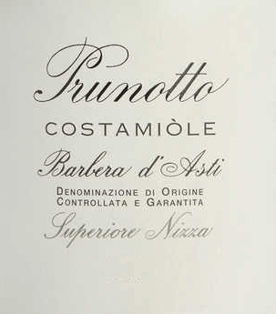 The Costamìole Barbera d 'Asti Superiore Nice DOCG by Prunotto is a magnificent cru from Piedmont. In the glass, the Costamìole Barbera shines in deep dark garnet and ruby red with violet and black reflections. A rich, fruity bouquet unfolds on the nose, especially with aromas of plum and cherry, scents of violet, cinnamon, cocoa and leather. On the palate, the Costamìole is captivating, attractively dense and rich in soft, but well-structured, complex tannins. The finish is long, full of spice and sustainability. Vinification of the Costamìole Barbera d 'Asti Superiore Nice DOCG by Prunotto In the area of Agliano, about 19 km from Asti, between Nice Monferrato and Tiglione, there are 27 hectares of vineyard with Barbera d 'Asti, for the wines Costamìole and Fiulot. The climate is somewhat warmer than in the Alba region, but in some places the soils are similar in composition to the marl soils of Barolo. This vineyard produces fresh and young wines, but also wines with aging potential. Grape varieties typical for the Barbera of Costamìole are fragrances of ripe cherries, plums, blackberries and raspberries, as well as the garnet red color.After destemming and pressing, the grapes are macerated in a temperature-controlled manner on the skins, which are stirred three times a day to obtain a higher extraction. The ageing in French oak barriques over 18 months is followed by a further 18 months of bottle ageing. The Costamìole Barbera d 'Asti Superiore Nice can be stored for at least 13 years. Food recommendation for the Costamiòle Barbera d 'Asti Superiore Nice by Prunotto Enjoy this full-bodied Barbera d 'Asti Superiore as a perfect accompaniment to roasts of red meat, game dishes and matured cheeses.We recommend opening the Costamìole 2 hours before serving. Awards for the Costamiòle Barbera d 'Asti Superiore Nice DOCG by Prunotto I Vini di Veronelli: 94 points - 3 stars Super for 2013 Bibenda: 4 grapes for 2011 James Suckling: 91 points for 2011 Gambero Rosso: 3 gla