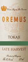Preview: Tokaji Late Harvest Spätlese 0,5 l 2016 - Tokaj Oremus