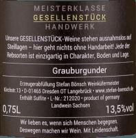 Preview: Grauburgunder 2020 - Stefan Bönsch