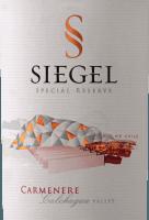 Preview: Special Reserve Carménère 2018 - Viña Siegel