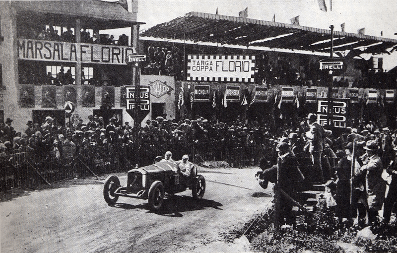 The first Targa Florio