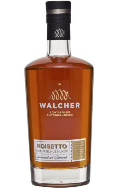 The Noisetto by Walcher is a wonderful rum hazelnut liqueur that enchants with its nougat aroma and pleasant sweetness. Production of the Noisetto by Walcher For this liqueur from South Tyrol, only hazelnuts from Piedmont are used, then roasted by a master confectioner and then processed with a selected Caribbean rum to a fine liqueur. Serving recommendation for the Noisetto by Walcher Enjoy this liqueur neat or with vanilla ice cream.