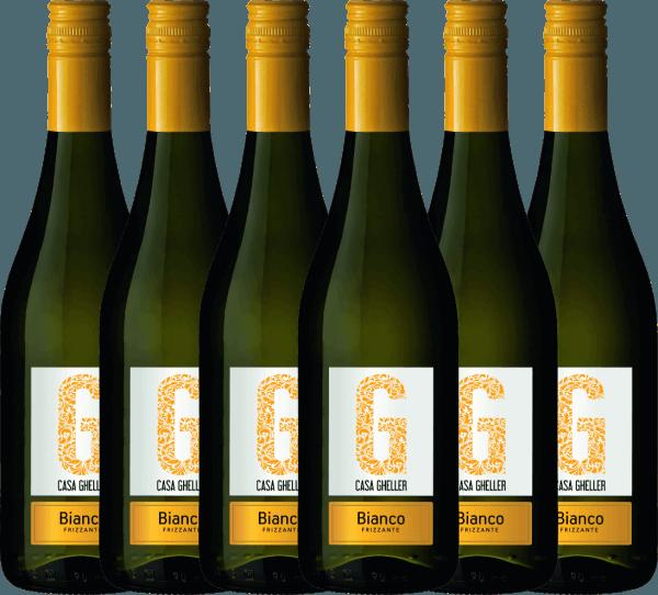 6er Vorteilspaket - Bianco Frizzante IGT - Casa Gheller