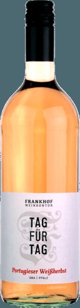 Tag für Tag Portugieser Weißherbst halbtrocken 1,0 l 2019 - Frankhof Weinkontor