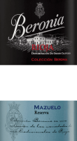 Preview: Mazuelo Reserva Rioja DOCa 2016 - Beronia