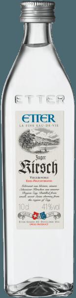 Zuger Kirsch vieux & noble Kirschwasser 0,1 l - Etter