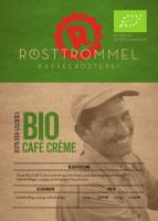 Bio Cafe Creme - Rösttrommel Kaffeerösterei