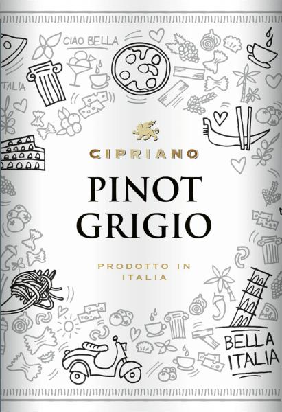 Pinot Grigio Venezie DOC 2019 - Cipriano di Venezia von Cantine Minini