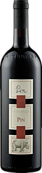 The PIN DOC by La Spinetta appears in the glass in a strong brick red and enchants with its powerful bouquet, which is dominated by the berry aromas of raspberries, blackberries and currants. These berry notes are accompanied by subtle nuances of eucalyptus and mint. This cuvée from the grape varieties Nebbiolo and Barbera is a complex and profound red wine from Italy with a great character. Food recommendation for the PIN DOC of La Spinetta Enjoy this dry red wine with strong dishes of pork and beef, grilled meat and roasts, lamb and game or with strong cheese. Awards for the PIN DOC of La Spinetta Gambero Rosso: 3 glasses (vintage 2006) Gambero Rosso: 2 Glasses (Vintages 2004, 2007, 2011, 2012, 2013, 2014) This magnesium bottle comes in a decorative wooden box.