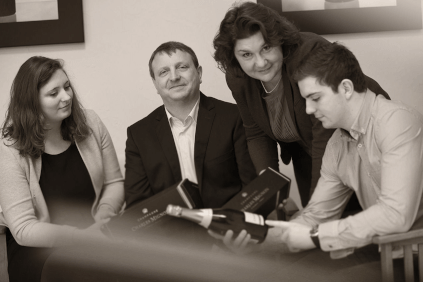 Manon, Bruno, Laurence and Guillaume
