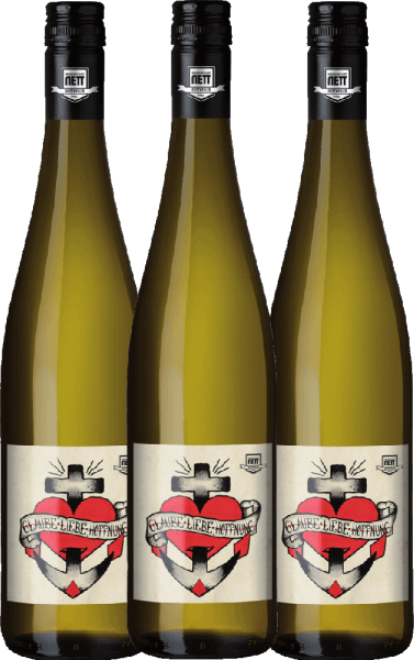3er Vorteils-Weinpaket - Glaube-Liebe-Hoffnung Riesling 2020 - Bergdolt-Reif & Nett