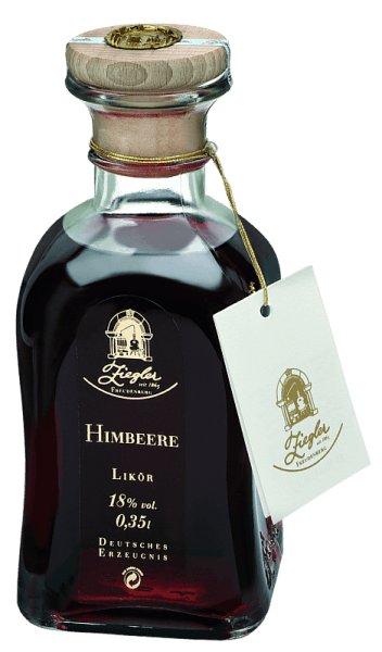 This liqueur is made from fully matured raspberries that grow in high altitudes. The special harvest areas give these rare fruits a unique and typical expression. The Raspberry Liqueur by Ziegler reveals a highly aromatic and strong intensity in the mouth. It is suitable for cocktails, many sweets, fruit sorbets and desserts as well as for mixing with champagne, wine or sparkling wine. It can also be enjoyed as an aperitif or solo. A good liqueur must not be of thick consistency and must not taste oversugary.