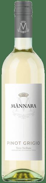 Pinot Grigio Weiß IGT Terre Siciliane 2019 - Mànnara