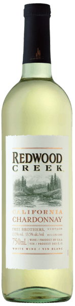 The Chardonnay Redwood Creek by Frei Brothers appears in the glass in a light golden yellow and enchants with its bouquet, which is dominated by southern fruits. These flavours are accompanied by green apples and filigree citrus notes. This white wine from California is harmonious, soft and elegant on the palate with creamy vanilla in the finish. Food recommendation for the Chardonnay Redwood Creek by Frei Brothers Enjoy this semi-dry white wine with poultry and pork or with pasta with light sauces.
