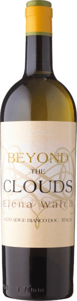The Beyond the Clouds by Elena Walch appears in the glass in an intense yellow and spreads its complex bouquet with the aromas of exotic fruits such as pineapple, floral notes of flowers and flowers, as well as rose leaves and subtle roasted aromas. This white wine cuvée is dense on the palate and creamy soft, fresh and juicy with a discreet woody note. This complex white wine has a long reverberation. Vinification for the Beyond the Clouds by Elena Walch Castel Ringberg is Elena Walch's most important wine cellar. It is located at 350 meters above sea level above Lake Caldaro. The climate is particularly mild here. On the rather barren calcareous soils, wines are produced with exceptional authenticity. The different grape varieties are read simultaneously as soon as the Chardonnay is at the peak of its maturity. The other grape varieties bring this cuvée additional flavor and ensure an ideal acidity. The specialty of the vinification of this wine is the common pressing and fermentation of the grapes in French barrique barrels. After fermentation, a weekly battonage takes place for 3 months. After 10 months of aging in the barrique, the wine is stored for at least 6 months on the bottle. Food recommendation for the Beyond the Clouds by Elena Walch Enjoy this dry white wine with strong appetizers, fish and light meat or with cheese. Awards for the Beyond the Clouds by Elena Walch (vintage 2015) Bibenda: 5 grapes Wine Spectator: 91 points Falstaff: 92 points The Wine Advocat - Robert Parker: 92 points