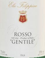 Preview: Rosso Gentile 2018 - Elio Filippino