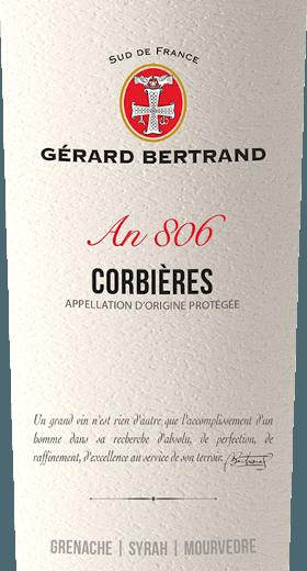 Heritage 806 Corbières 2017 - Gérard Bertrand von Gerard Bertrand