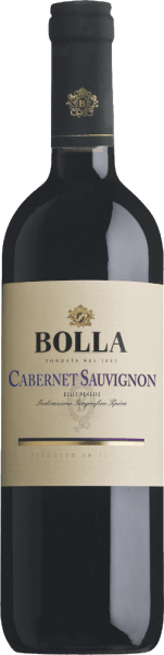 The short maturation in the barrique gives the Cabernet Sauvignon delle Venezie of Bollaits typical vanilla finish. This very structured red wineoffers very seductive aromas of black pepper, liquorice and blueberry. Food Pairing/Food recommendation forthe Cabernet Sauvignon delle Venezie from BollaDelicious to enjoy with game and spicy dishes. Decant one hour before serving so that it can fully unfold its aromas.