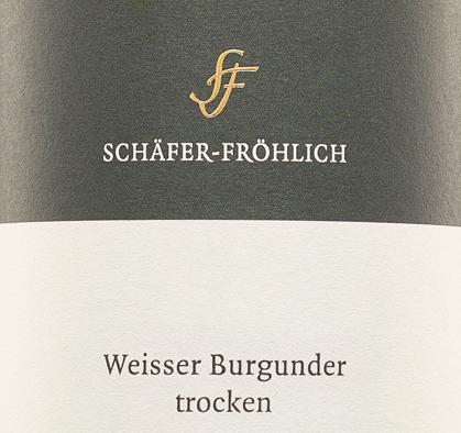 Weißburgunder trocken 2019 - Schäfer-Fröhlich von Schäfer-Fröhlich