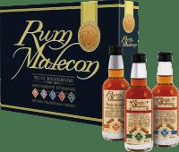 Rum miniature set 5 x 0,05 l - Rum Malecon