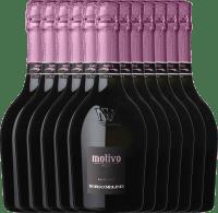 12er Vorteils-Weinpaket - Motivo Rosé extra dry - Borgo Molino