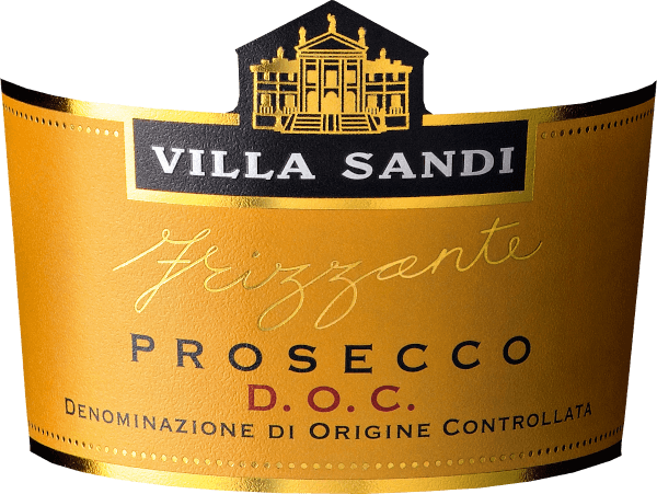 The Prosecco Frizzante by Villa Sandi from the Italian wine region Veneto is a soft, fruity and uncomplicated semi-sparkling wine vinified from the Glera grape variety. This frizzante appears in a light straw yellow with greenish reflections in the glass. The nose is dominated by a wonderful, fresh and fruity fragrance. It reveals fruity aromas of juicy apples, perfectly complemented by floral notes of acacia blossom. This Prosecco shows a seductive and fine moussex. The palate flatters a soft character - the aromas of the nose are also reflected and emphasize the elegant, finely pearled overall appearance. Vinification of Villa Sandi Prosecco Frizzante The must obtained during the whole grape pressing process is fermented in pressure tanks to form the frizzante. The fermentation's own carbonic acid leads to a very fine, elegant perlage. Food recommendation for the Frizzante Villa Sandi Prosecco Enjoy this finely pearled Italian frizzante chilled as a classic aperitif or serve it with fresh summer fruits and light sorbets!
