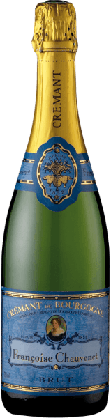 This Crémant de Bourgogne Brut by Françoise Chauvenet has a delicate, light straw tone. The cuvée of Pinot Noir and Chardonnay is perfectly balanced. She shows herself with strength and elegance, but still looks playful. A crémant with a refreshing acidity.