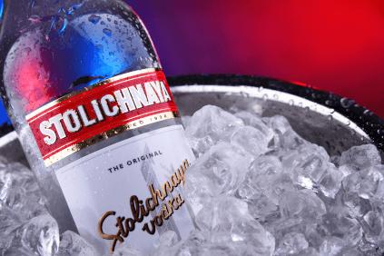 Stolichnaya is best enjoyed iced....