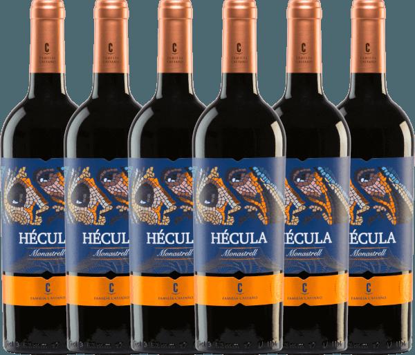 6er Vorteils-Weinpaket - Hécula Tinto DO 2018 - Bodegas Castaño