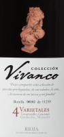 Preview: Colección Vivanco 4 Varietales Rioja DOCa 2016 - Vivanco