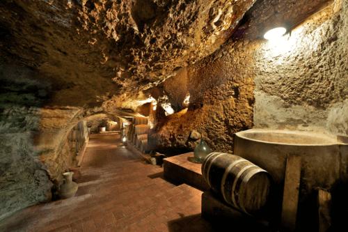 Der Weinkeller von Vigneti del Vulture