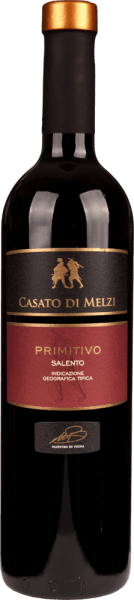 Oooohh Bella Italia - what do you give us for wonderful red wine from your south? Puglia and Primitivo simply belong together. Sun-drenched Puglia - the heel of the Italian boot - gives Primitivo grapes wonderful aromas of dark forest fruits and spicy nuances reminiscent of cinnamon, clove and pepper. What many do not know: Primitivo originally comes from Croatia and in North America this red wine variety is cultivated under the name Zinfandel. Enough chatting about the grape variety - discover the world of Apulian primitivos with our connoisseur package! The6-pack - Primitivo from Puglia includes: 1 bottleof I Muri Primitivo Puglia IGP from Vigneti del Salento(13.5% vol. - dry) 1 bottleof Cantina Sampietrana Primitivo Salento IGT Trefilari (14.5% dry by volume) 1 bottleof Primitivo Salento from Casato di Melzi (13.5% vol. - dry) 1 bottleof Primasole Primitivo Puglia IGT from Cielo e Terra(13.0% vol. - dry) 1 bottleof I Tratturi Primitivo Puglia IGT from Cantine San Marzano(13.5% vol. - dry) 1 bottleof 12 e Mezzo Primitivo del Salento IGT from Varvaglione(12.5 vol. % - dry)
