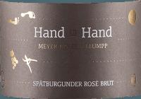Preview: Hand in Hand Spätburgunder Rosé Sekt brut 2018 - Meyer-Näkel & Klumpp