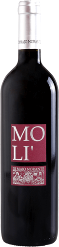 The Molí Rosso Terre degli Osci IGT by Di Majo Norante shows a beautiful ruby red and delights in the nose with its fresh-fruity aromas of forest fruits. On the palate, this red wine from the Molise is full-bodied, strong, but not overloaded, in the finish a slight tender bitterness. Vinification of Molí Rosso Terre degli Osci by Di Majo Norante For this pleasant wine Di Majo Norante has vinified the Montepulciano d 'Abruzzo 80% and Aglianico del Molise 20% grape varieties  together. The vines stand on clayey soils and are on average 22 years old. The Aglianico gives this red wine an elegant, delicately floral nuance. After harvesting, the grapes are macerated and fermented in a stainless steel tank for a longer period of time, including complete malolactic fermentation. Before it is sold, the wine matures in the bottle for at least 3 months. Food recommendations for the Molí Rosso Terre degli Osci IGT by Di Majo Norante This charming red wine from southern Italy is a great everyday wine that doesn't cost the world. Enjoy the Molí Rosso with appetizers, pasta dishes and any kind of meat, it tastes best at 16°-18°C. Awards for the Molí Rosso Terre degli Osci IGT by Di Majo Norante Gambero Rosso: 2 glasses for 2015