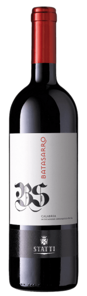 The ruby red Batasarro IGT Calabria by Statti clearly shows the influence of wood.Its extraordinary variety of fragrances and flavours ranges from dark berries to intense spices to coffee, mocha and roasted aromas.  A wonderful texture with concentrated, intense nuances and an elegant style characterize the mouthfeel.Enjoy this authentic Calabrian red wine with spicy vegetables, grilled meat and aromatic cheese.