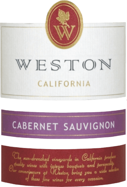 The Weston Estate Winery Cabernet Sauvignon has a gorgeous cherry red colour for the eye. The bouquet is carried by notes of blackcurrants and delicate nuances of orange peel. The red wine flatters the palate with juicy aromas of cassis, juicy black cherry and a fine herbal spice. The magnificent structure of California's wine is borne by ripe tannins, but they do not come to the fore. The finish has a wonderful length and gives rise again to notes of herbs and black cherry. Food recommendation for the Weston Estate Winery Cabernet Sauvignon Enjoy California red wine with tender roasted pork medallions with creamy sauce and pan potatoes.