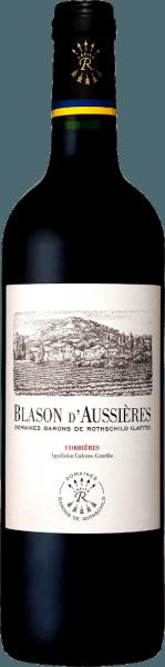 Blason d'Aussières Corbières AOC 2018 - Domaines Barons de Rothschild (Lafite)