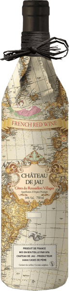 Côtes du Roussillon Villages Carte Ancienne 2018 - Château de Jau