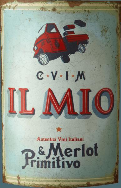 Merlot & Primitivo Puglia IGT 2018 - Collezione Il Mio von Collezione Il Mio
