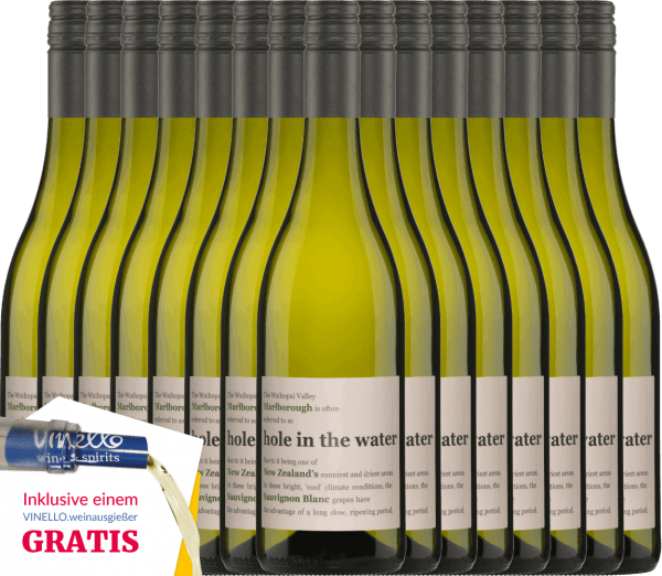 The Hole in the Water Sauvignon Blanc by Konrad Wines has a wonderful harmony between the fresh aromas and the lively acidity. The nose and palate are pampered by notes of gooseberries, freshly cut grass and tropical fruits. Enjoy this New Zealand white wine with our 15-pack of benefits. More information about this wine from New Zealand can be found in the individual article ofKonrad Wines Sauvignon Blanc Hole in the Water.