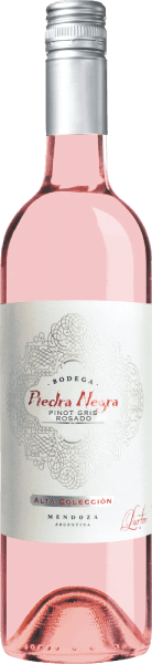 The Alta Colleción Rosado by Bodega Piedra Negrais presented in a bright shiny pink with glittering highlights. This Argentine rosé exudes a fresh bouquet with fresh aromas of citrus fruits, crisp apples and juicy peaches. Fine notes of red berries and a floral hint of violet accompany this. On the palate, this rosé wine is wonderfully fresh and lively with a perfect interplay of fruit and acidity. A very charming wine with a fresh, medium aftertaste. Food recommendation for Piedra Negra Alta ColleciónRosado Serve this dry rosé wine from Argentina chilled as an aperitif or with crisp salads and freshly grilled vegetables. A wonderful terrace wine that can be enjoyed with family and friends.