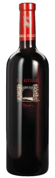 The Las Altillas of Barón de Ley has a strong, lush taste of red fruits, tobacco and spices without being intrusive. The red wine matures not only in American oak barrels, but also partly in French oak barrels. Prior to filling, the wine is only slightly filtered and then presents itself as a modern and high-class Rioja wine. This wine is very storable, but can also be drunk young.