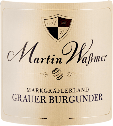 Martin Wassmer`s Grauburgunder SW quality dry wine has a ripe apple and fresh hazelnut nose. In the mouth it is clear and juicy and also quite full-bodied. Pinot Gris is a dense white wine with a lot of strength and power. It reveals a ripe taste with apple, some apricot and nut butter aromas. A clear creaminess is noticeable. A well-balanced quality wine with a hint of extra sweetness, fabric and depth. It ends in a long finish.