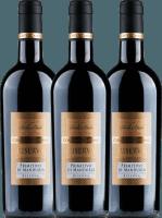 3er Vorteils-Weinpaket - Primitivo di Manduria Riserva DOC 2017 - Conte di Campiano