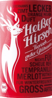 Preview: Roter Bio-Glühwein - Heißer Hirsch