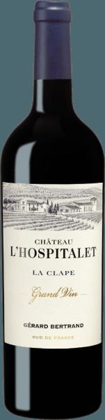 Château L'Hospitalet Grand Vin Rouge La Clape 2018 - Gérard Bertrand
