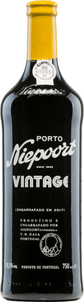 TheVintage Port of Niepoort is an excellent, outstanding port wine from Sousão, Tinta Amarela, Tinta Cão, Tinta Francisca, Tinta Roriz, Touriga Francesa, Touriga Nacional and other red Portuguese grape varieties. The glass shows a strong opaque violet with a black core. The intense bouquet reveals wonderful aromas of full berry fruit, cassis and floral notes of violet. This is accompanied by hints of dried figs, liquorice and freshly ground white pepper. On the palate, this port wine is wonderfully concentrated with a fantastic acidity structure and firm, compact tannin. The finale comes with an incredible length and floral accents. Vinification of Port Vintage Niepoort The grapes for this port wine are harvested manually. The harvest took place in September. The grapes harvested at the beginning of September have a higher acidity - the grapes harvested in the second half of September have a higher ripeness. This gives this port its wonderful concentration, finesse and elegance. In the Vale de Mendiz wine cellar, the harvested goods (without destemming) are foot tamped in granite warehouses using a traditional method. Over the winter, this wine is now stored in oak barrels (Tonéis) in the Douro Valley. In April, the barrels are brought to Vila Nova de Gaia and the final blend matures for a total of 2 years in oak barrels and wood fodder. Food recommendation for Niepoort Vintage This port wine goes wonderfully with blue mold, precious mushroom and strong hard cheese (matured Manchego), fruits and desserts. And always remember: vintage port wine should be decanted! Awards for the Vintage Port of Niepoort Wine Plus: 97 points for 2015 James Suckling: 95 points for 2015 Robert M. Parker: 95 points for 2015